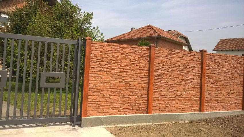 Elemes kerítés